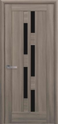 Межкомнатная ламинированная дверь  Лаура BLK