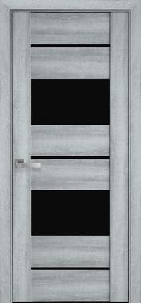 Межкомнатная ламинированная дверь  Аскона BLK