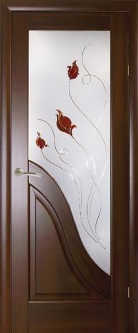 Межкомнатная ламинированная дверь  Амата Р1