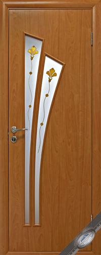Межкомнатная ламинированная дверь  Лилия Р1