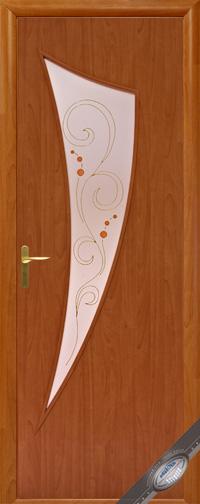 Межкомнатная ламинированная дверь  Парус Р1