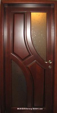 Двери из массива Сосны  Модель 13