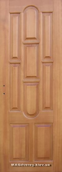Двери из массива Сосны  Модель 14