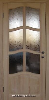 Двери из массива Сосны  Модель 1