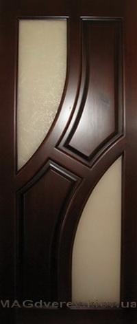 Двери из массива Сосны  Модель 17