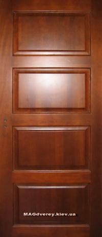 Двери из массива Сосны  Модель 12