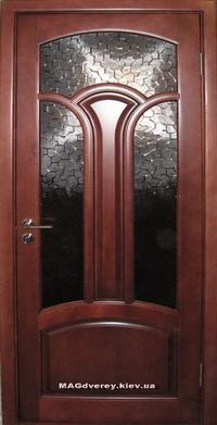 Двери из массива Сосны  Модель 24