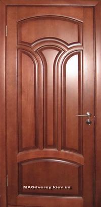 Двери из массива Сосны  Модель 25