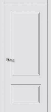 Межкомнатная шпонированная дверь UNO 1