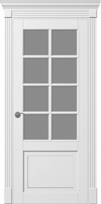 Межкомнатная шпонированная дверь Ницца ПО