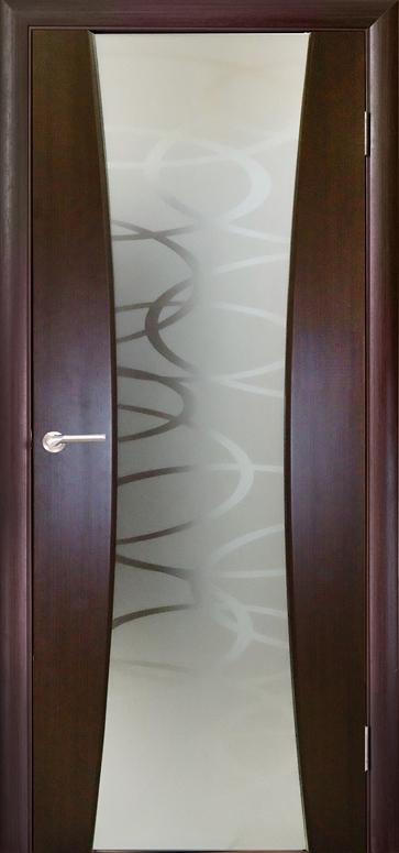 Межкомнатная шпонированная дверь Дива
