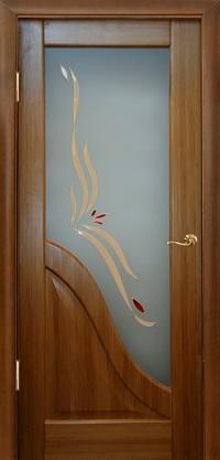 Межкомнатная шпонированная дверь Луиндор