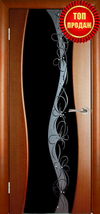 Межкомнатная шпонированная дверь Пандора